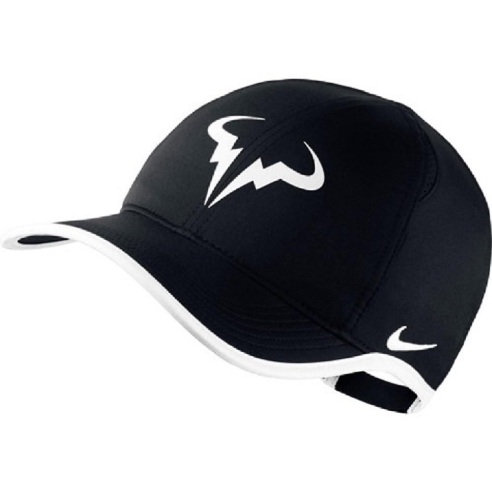 Nike Rafa Premier Feather Light Cap schwarzweiss