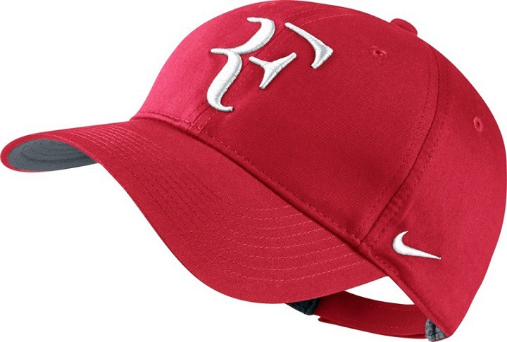 Nike Roger Federer Foundation Cap - rot c5a87a8aa84