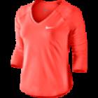 Nike Pure LS Top weiss 3/4-Ärmel