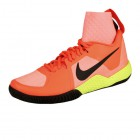 Nike Women Flare Tennis Schuh - orange / schwarz