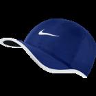 Nike Feather Light Cap - royalblau/weiss