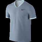 Nike Roger Federer Dry Top Vneck hellblau