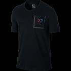 Nike Roger Federer Stealth Pocket Tee schwarz