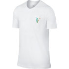 Nike Roger Federer Stealth Pocket Tee weiss