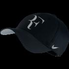Nike Roger Federer Iridescent Cap - schwarz / silber