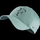 Nike Roger Federer Iridescent Cap - hellgrün / grau
